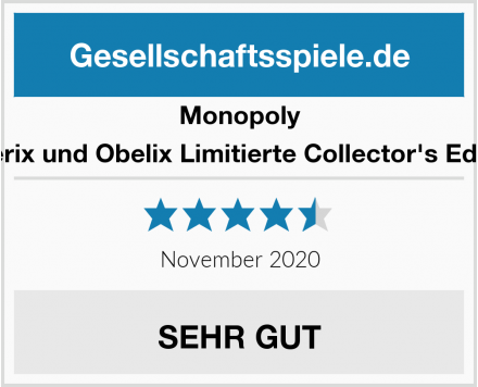 Monopoly Asterix und Obelix Limitierte Collector's Edition Test