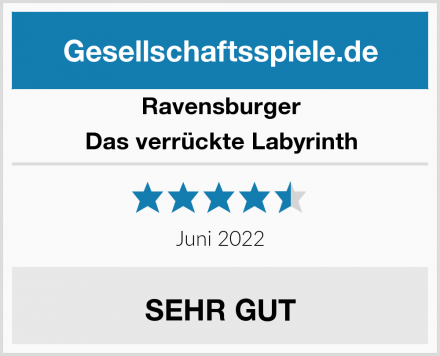 Ravensburger Das verrückte Labyrinth Test