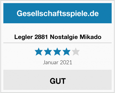 Legler 2881 Nostalgie Mikado Test