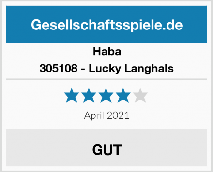 Haba 305108 - Lucky Langhals Test