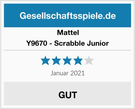Mattel Y9670 - Scrabble Junior Test