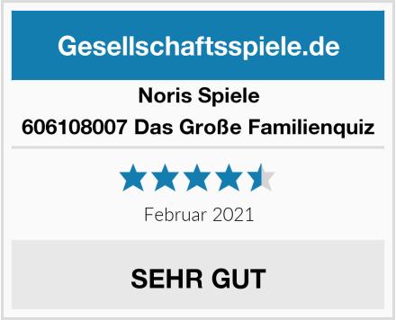Noris Spiele 606108007 Das Große Familienquiz Test