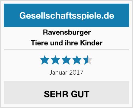 Ravensburger Tiere und ihre Kinder Test