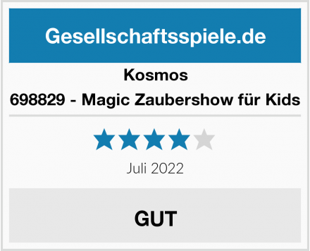 Kosmos 698829 - Magic Zaubershow für Kids Test