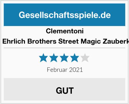 Clementoni 59049 Ehrlich Brothers Street Magic Zauberkasten Test
