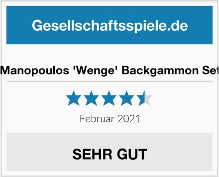 Manopoulos 'Wenge' Backgammon Set Test