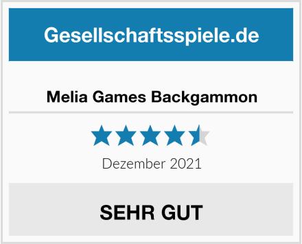 Melia Games Backgammon Test