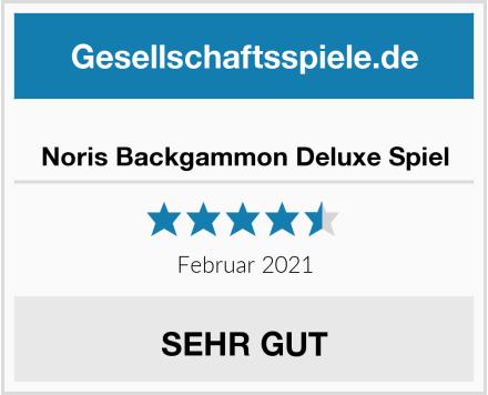 Noris Backgammon Deluxe Spiel Test
