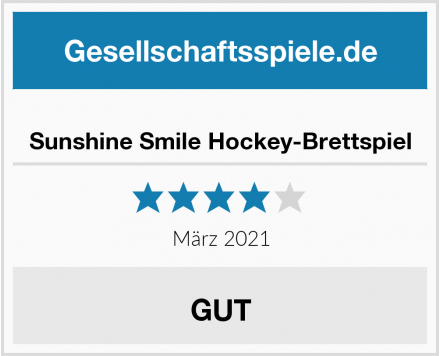 Sunshine Smile Hockey-Brettspiel Test