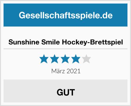 Sunshine Smile Hockey-Brettspiel Test