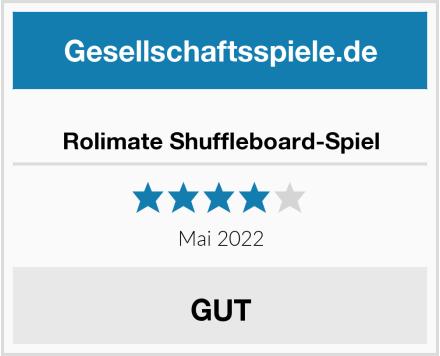 Rolimate Shuffleboard-Spiel Test