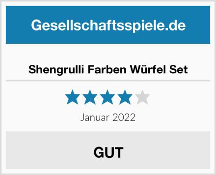 Shengrulli Farben Würfel Set Test