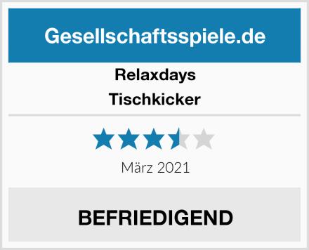 Relaxdays Tischkicker Test