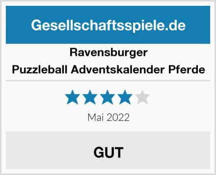 Ravensburger Puzzleball Adventskalender Pferde Test