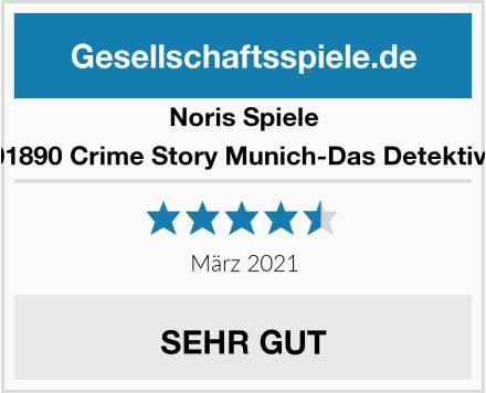 Noris Spiele 606201890 Crime Story Munich-Das Detektiv Spiel Test