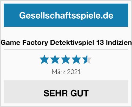 Game Factory Detektivspiel 13 Indizien Test