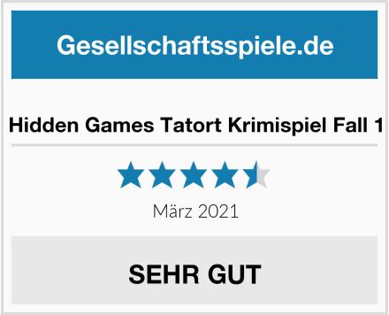 Hidden Games Tatort Krimispiel Fall 1 Test