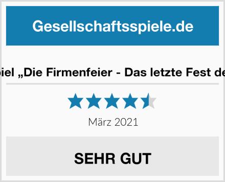 """Magnificum Krimispiel """"Die Firmenfeier - Das letzte Fest des Oliver Borgmann"""" Test"""