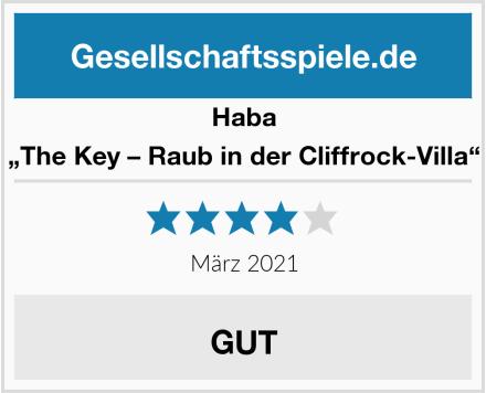 "Haba ""The Key – Raub in der Cliffrock-Villa"" Test"
