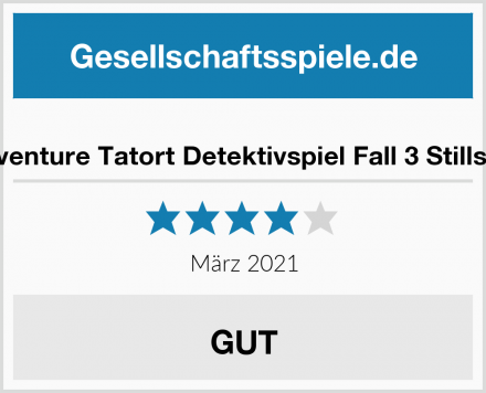 Idventure Tatort Detektivspiel Fall 3 Stillsee Test