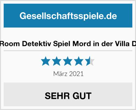 Secret Room Detektiv Spiel Mord in der Villa Dornbirn Test
