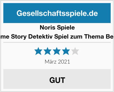 Noris Spiele Crime Story Detektiv Spiel zum Thema Berlin Test