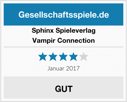 Sphinx Spieleverlag Vampir Connection Test