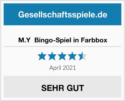 M.Y  Bingo-Spiel in Farbbox Test
