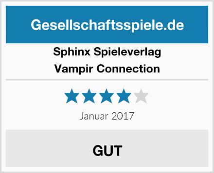 Sphinx Spieleverlag Vampir Connection Test