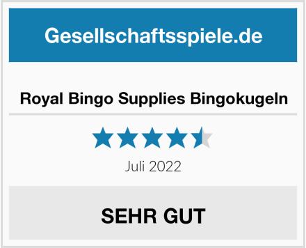 Royal Bingo Supplies Bingokugeln Test