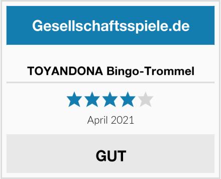 TOYANDONA Bingo-Trommel Test