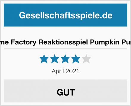 Game Factory Reaktionsspiel Pumpkin Punch Test