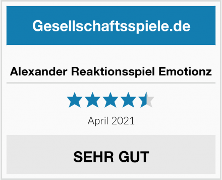 Alexander Reaktionsspiel Emotionz Test