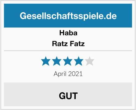 Haba Ratz Fatz Test