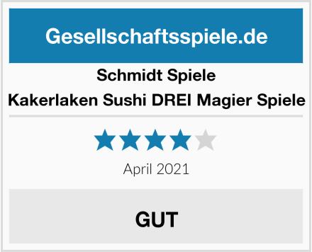 Schmidt Spiele Kakerlaken Sushi DREI Magier Spiele Test