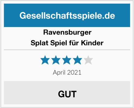 Ravensburger Splat Spiel für Kinder Test