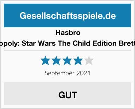 Hasbro Monopoly: Star Wars The Child Edition Brettspiel Test