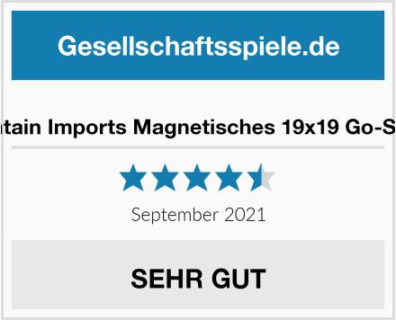 Yellow Mountain Imports Magnetisches 19x19 Go-Spielset-Brett Test