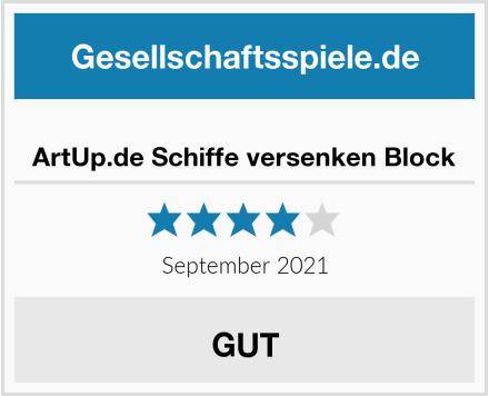 ArtUp.de Schiffe versenken Block Test