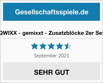 NSV - 4033 - QWIXX - gemixxt - Zusatzblöcke 2er Set - Würfelspiel Test