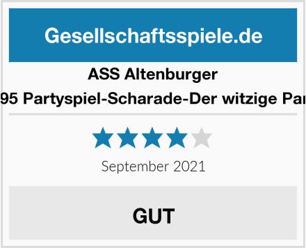 ASS Altenburger 22597395 Partyspiel-Scharade-Der witzige Partyspaß Test