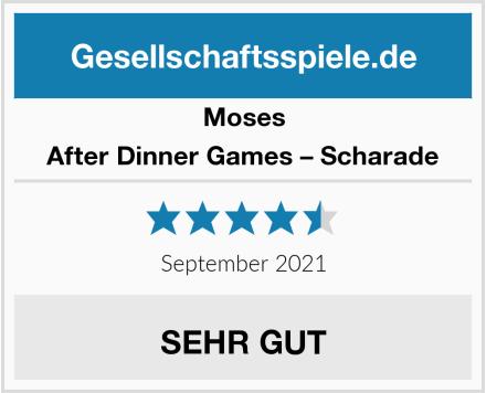 Moses After Dinner Games – Scharade Test