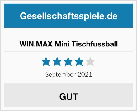 WIN.MAX Mini Tischfussball Test