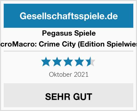 Pegasus Spiele MicroMacro: Crime City (Edition Spielwiese) Test