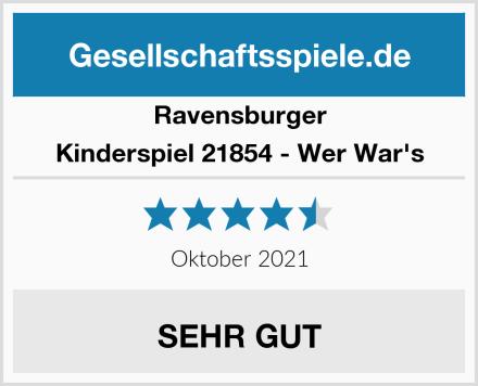 Ravensburger Kinderspiel 21854 - Wer War's Test