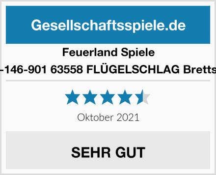 Feuerland Spiele 104-146-901 63558 FLÜGELSCHLAG Brettspiel Test