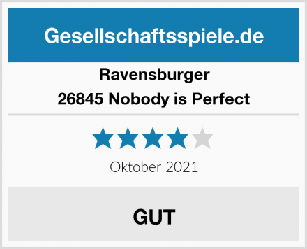 Ravensburger 26845 Nobody is Perfect Test