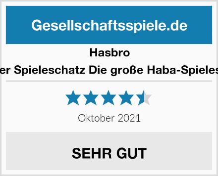 Hasbro Mein erster Spieleschatz Die große Haba-Spielesammlung Test
