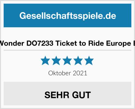 Days of Wonder DO7233 Ticket to Ride Europe Brettspiel Test