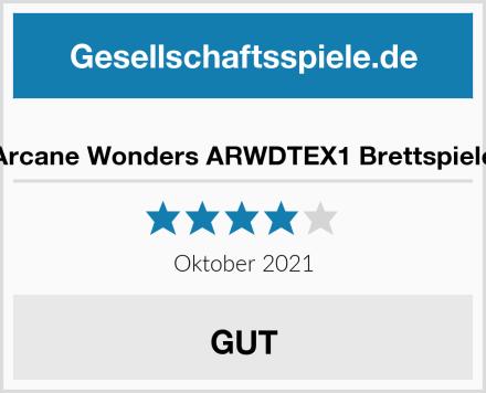 Arcane Wonders ARWDTEX1 Brettspiele Test